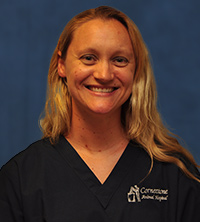 Lisa Ward, Veterinary Assistant, Receptionist